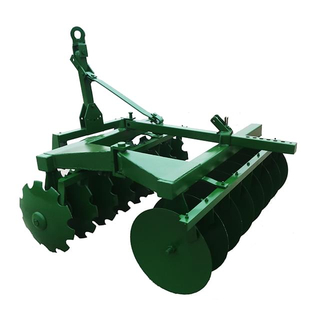 Hinge midlle disc harrow